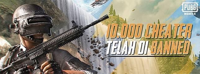 Temukan Cheat One Hit Kill, PUBG Mobile Langsung Banned 10.000 Pemain Selama 10 Tahun
