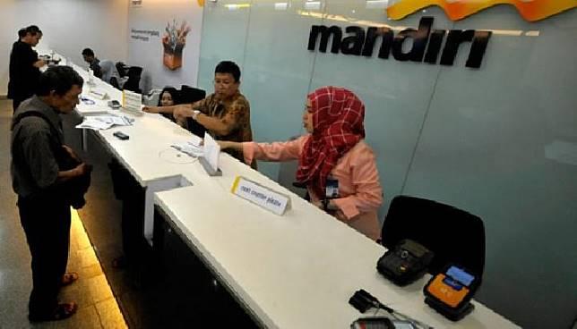 Ilustrasi Bank Mandiri. Tempo/Tony Hartawan