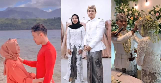 Kisah Viral Gadis Kenal Sehari, Besok Diajak Menikah. (Foto: Video TikTok)