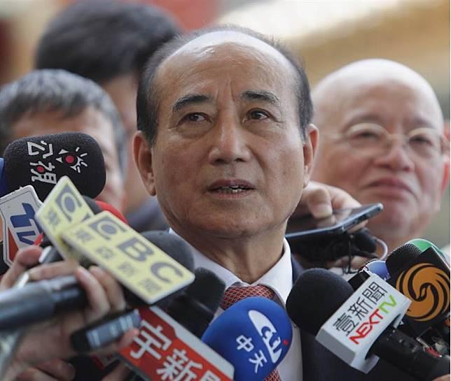 前立法院長王金平。(季志翔攝)