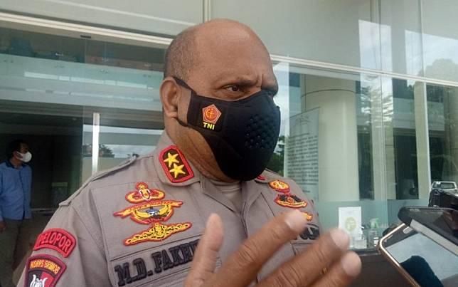 Kapolda Papua Irjen Pol Mathius D Fakhiri/Antara-Evarianus Supar