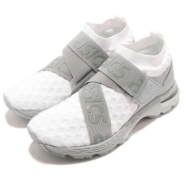 Asics 慢跑鞋 Gel-Kayano 25 OBI 白 灰 日式和服元素 編織鞋面 繃帶設計 運動鞋 女鞋【PUMP306】 1022A02-8100