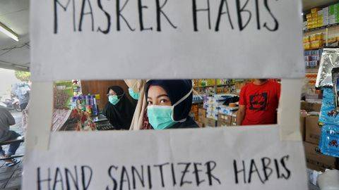 Mahasiswi Penimbun Masker di Jakbar Dihukum Wajib Lapor