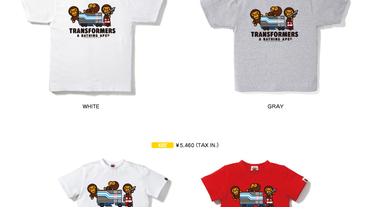 A Bathing Ape x Transformers 變形金剛 T-shirt Collection