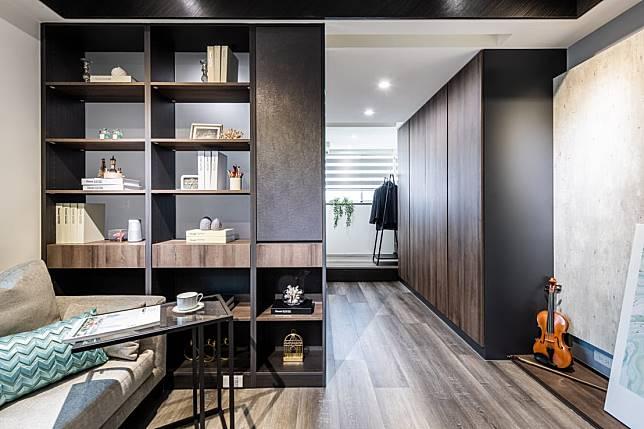9. 溫潤木質的臥室空間