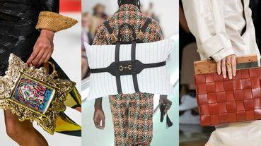 【2020 SS米蘭時裝周】枕頭後背包、金邊相框包,特殊包款超吸睛!米蘭時裝周春夏包款精選