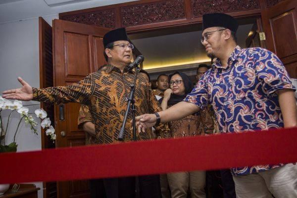 Dahnil Anzar Simanjuntak dan Prabowo Subianto