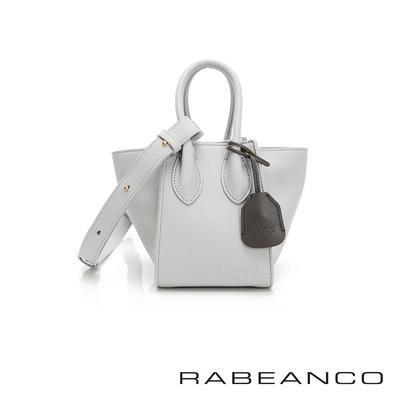 RABEANCO LU手提肩背兩用包-迷你-淺灰