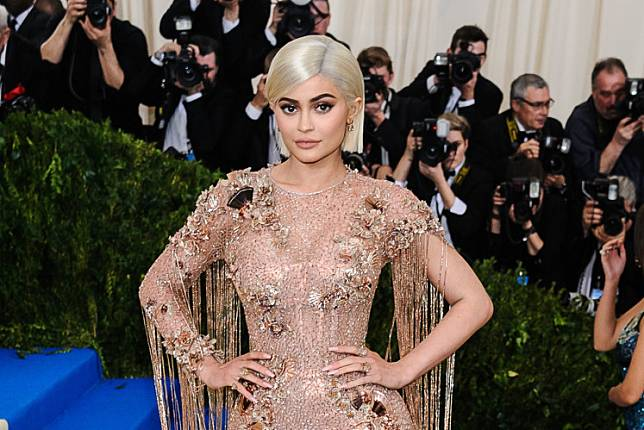 Kylie Jenner attends the Costume Institute Gala at Metropolitan Museum of Art on May 1, 2017 in New York City.
