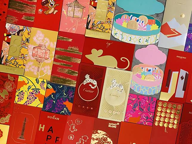 8 top chic and showy red packets, from Gucci, Cartier and more - make your lai see stand out from the pile this Lunar New Year