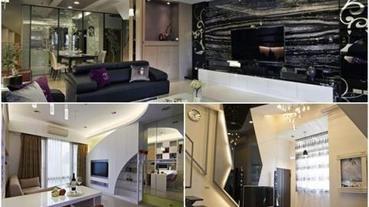 完美現代風客廳,就用「電視牆」一決勝負!