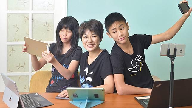 兒女都是小YouTuber!udn副總編輯官振萱的教養心法是.....