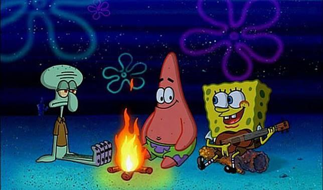 Misteri Api Dan Pantai Dalam Serial Spongebob Squarepants Kincir Com Line Today