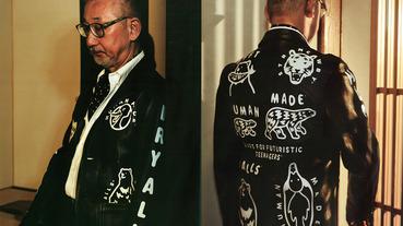 叛逆不羈 UNITED ARROWS 30 週年攜手 HUMAN MADE 推出塗鴉皮夾克