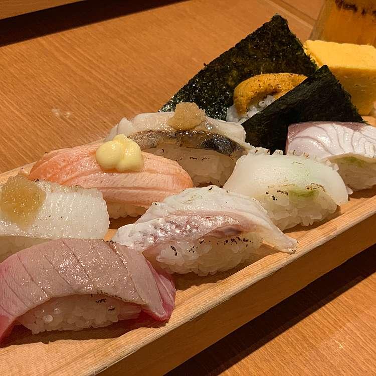 ユーザーが投稿した板前炙りにぎりセットの写真 - 実際訪問したユーザーが直接撮影して投稿した歌舞伎町寿司板前寿司 新宿東宝ビル店の写真