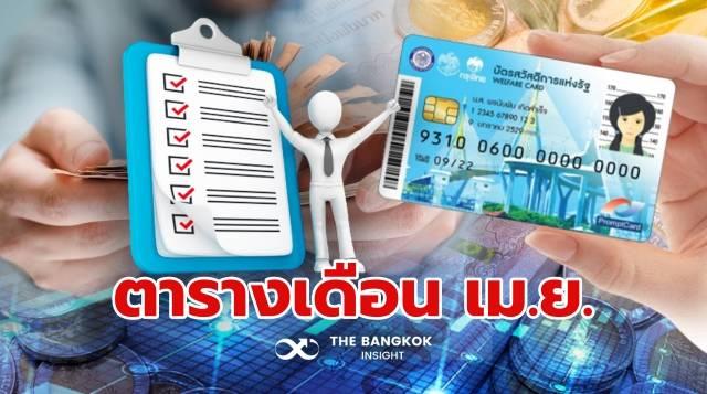 บัตร สวัสดิการ แห่ง รัฐ
