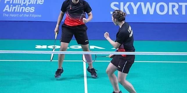 Badminton SEA Games 2019, Fadia/Ribka Tembus Perempat Final