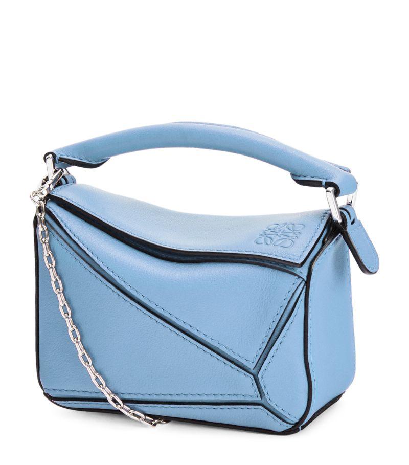 Loewe Nano Leather Puzzle Bag