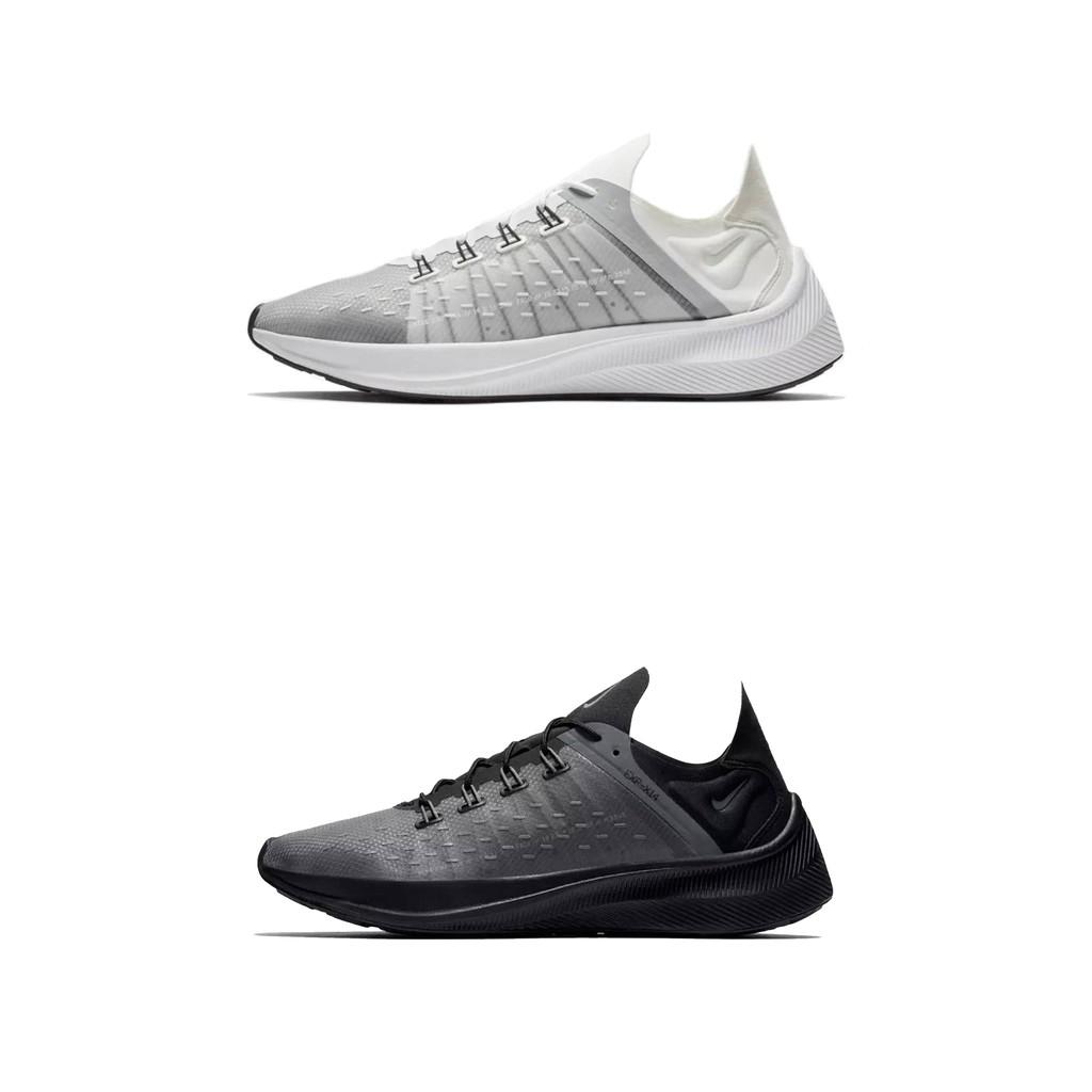 【Footwear Corner 鞋角】Nike EXP-X14 Grey 白透明飛線慢跑鞋型號:白款男款,AO1554-100女款,AO3170-100黑款:AO1554-004版型偏小,建議拿大半