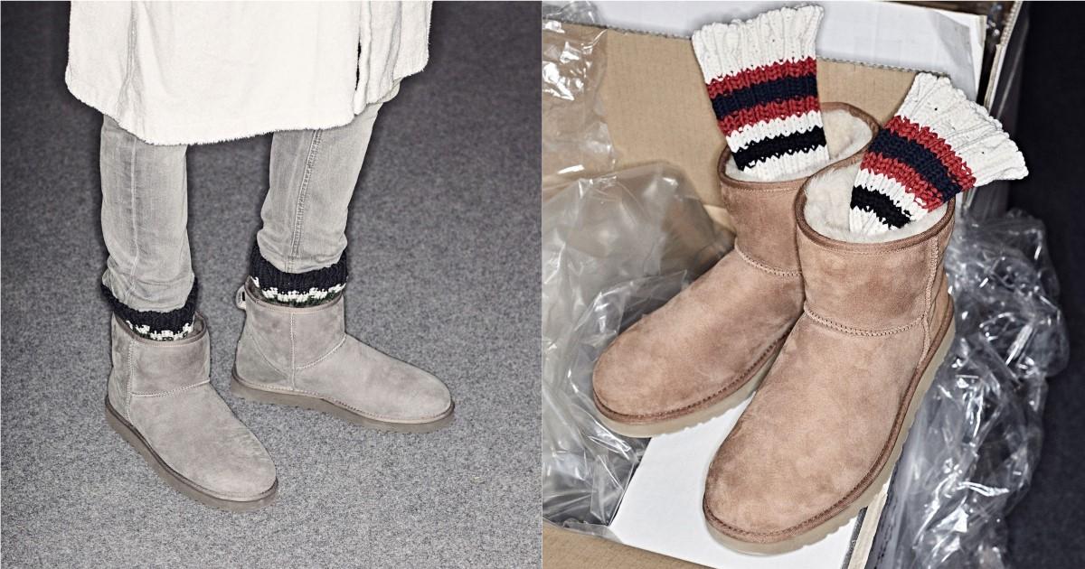 一雙雪靴打造多層次!sacai與 UGG®聯名系列正式上架
