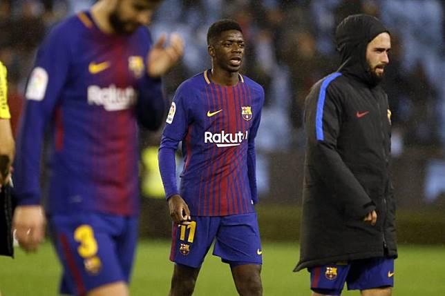 Ladeni Manchester United, Barca sertakan Dembele