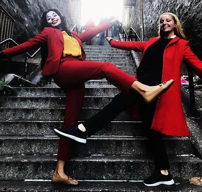 小丑樓梯成為熱點!