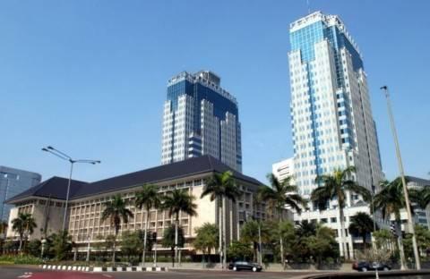 Gedung Bank Indonesia di Jakarta.