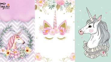 你相信世上有獨角獸的存在嗎?少女心爆發的獨角獸wallpaper,手機好久沒有換桌布的你快挑一張!