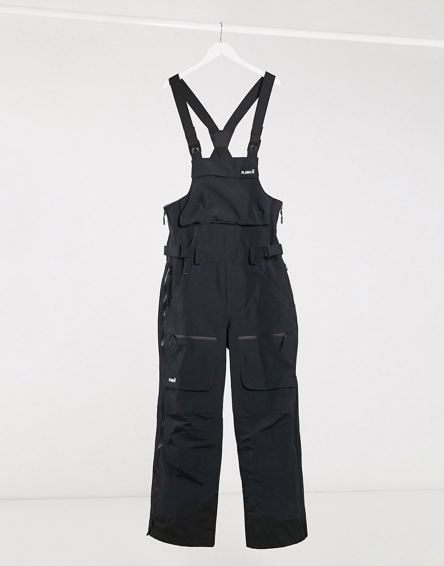 Ski trousers by Planks Part of our responsible edit High-cut bib with elasticated cross-over shoulde