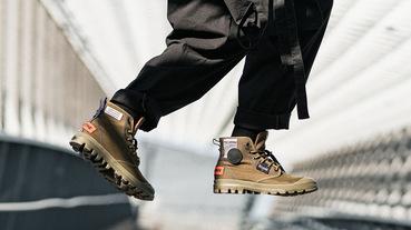 官方新聞 / 別怕被貼標籤 展現探險精神 PALLADIUM 法國限定三色 OVERLAB 靴