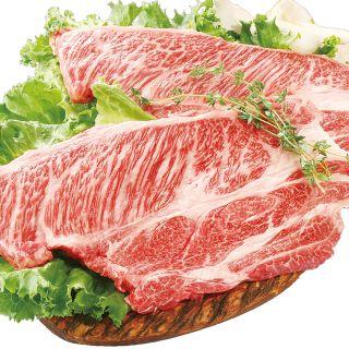 <鹿児島県産>黒毛和牛かたロースステーキ用