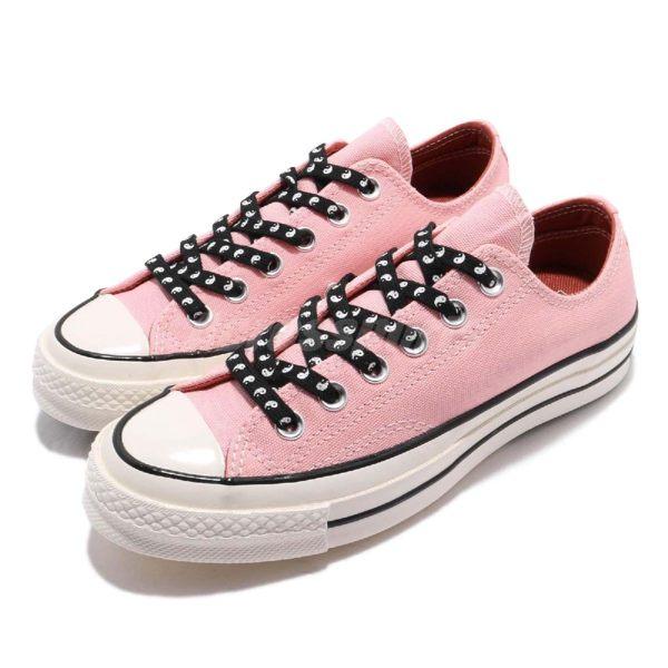 Converse Chuck Taylor All Star 70 粉紅 黑 奶油底 1970 男鞋 女鞋 低筒 帆布鞋【PUMP306】 164212C