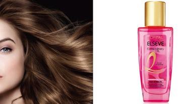 金緻護髮精油縮小囉~讓女孩們隨時隨地都可以輕易呵護秀髮!