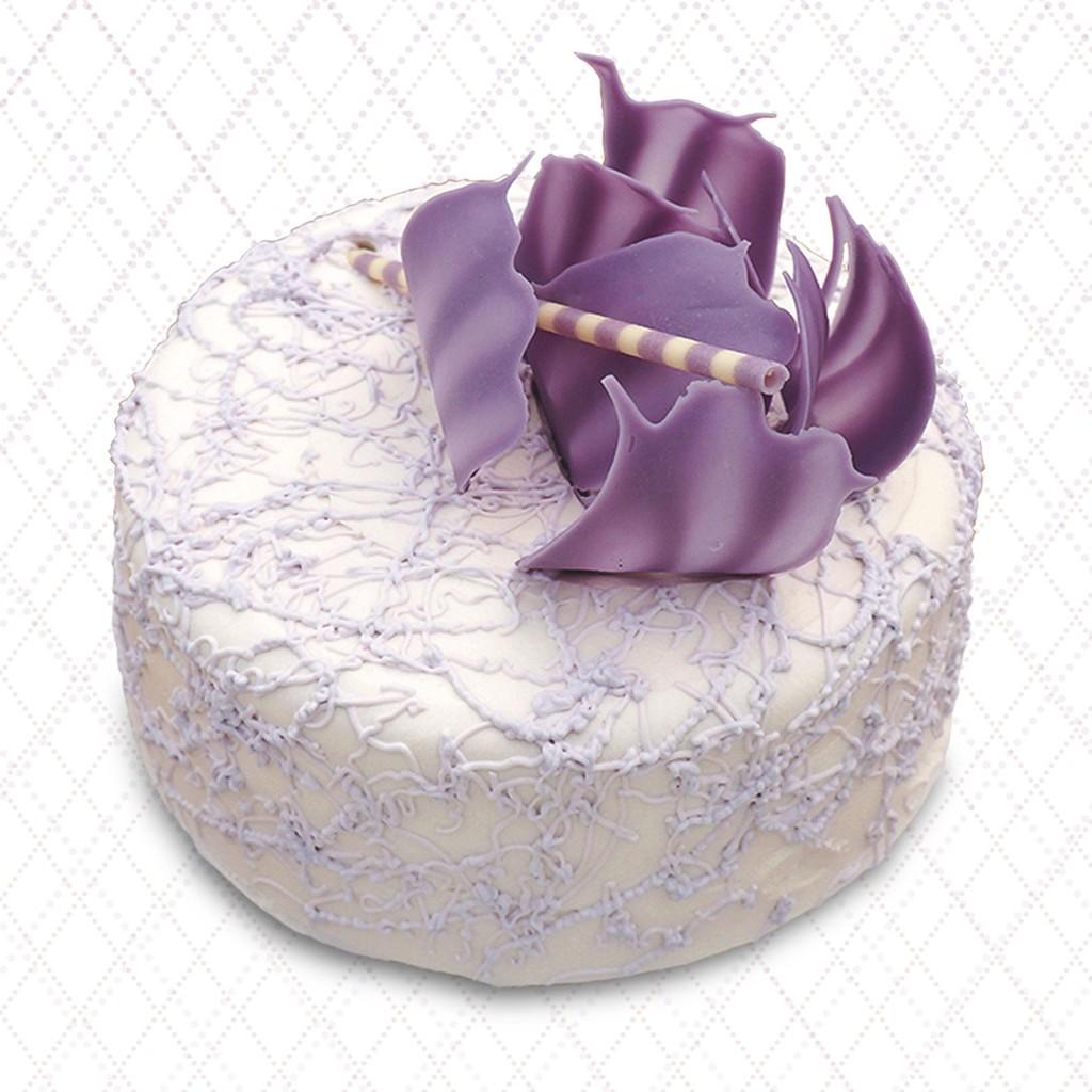 【台灣茶奶茶】芋頭牛奶珍珠蛋糕 7吋