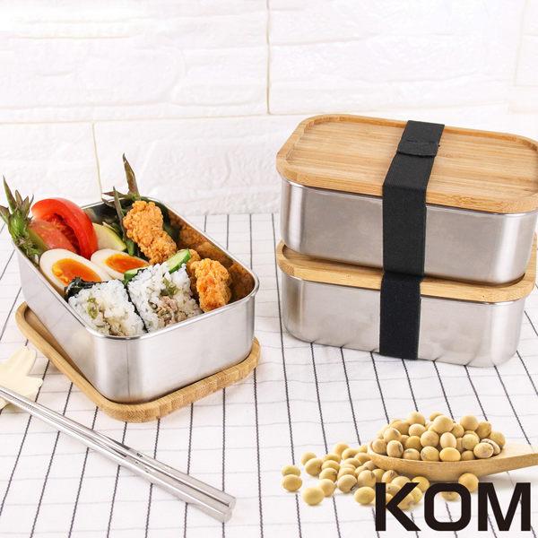 日式竹蓋便當盒環保健康。 304不鏽鋼,耐高溫,易清洗。 方便攜帶、野餐必備。