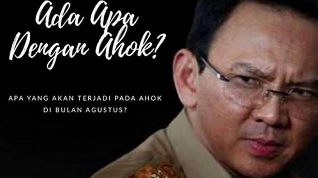 Basuki Tjahaja Purnama alias Ahok bakal bikin kejutan di bulan Agustus