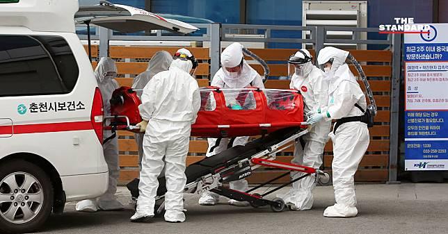 เกาหลีใต้พบผู้ป่วยโรคโควิด-19 สูงเกิน 2,000 ราย ระบาดหนักสุดรองจากจีนแผ่นดินใหญ่