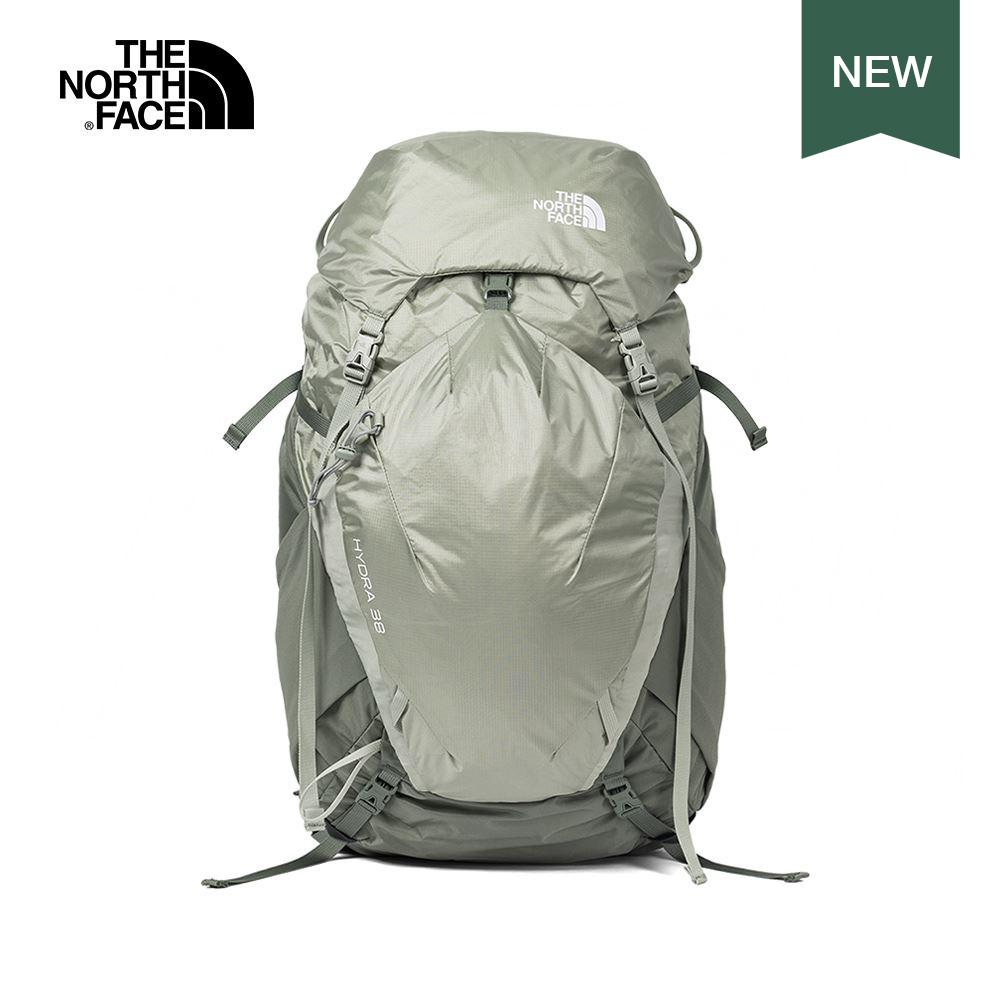 The North Face北面男女款綠色穩定透氣登山後背包|3S5JXMT