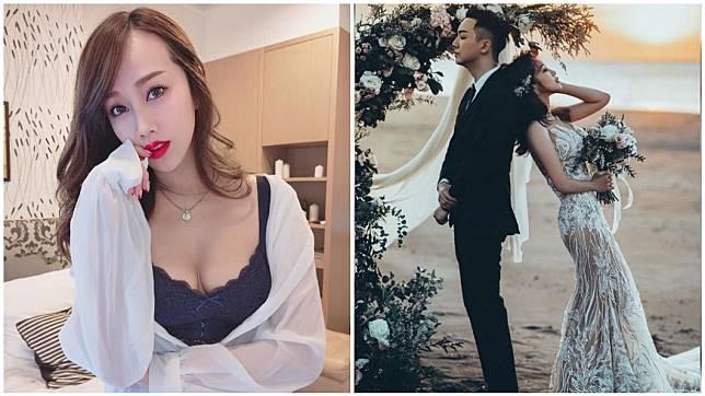 有「最美空姐」稱號的林佩瑤,日前宣布將在年底完婚。(圖/翻攝自林佩瑤臉書)