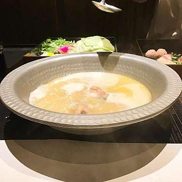 実際訪問したユーザーが直接撮影して投稿した新宿水炊き水炊き ふく将 新宿の写真