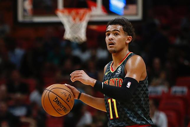 Trae Young。(圖/美聯社/達志影像)