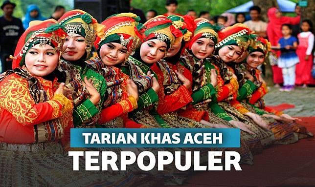 12 Tarian Daerah Aceh Terpopuler