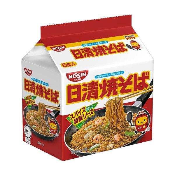 【豆嫂】日本泡麵 日清 特製燒炒麵(5袋入)