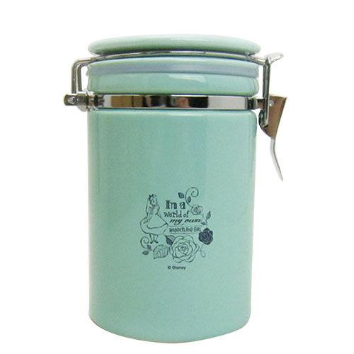 《Marimo》愛麗絲日本製陶磁密封儲物罐(薄荷綠)_FT82875
