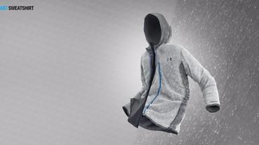 UNDER ARMOUR推出全新複合式保暖戰衣「SWACKET」 防潑水、防風、保暖一件搞定!