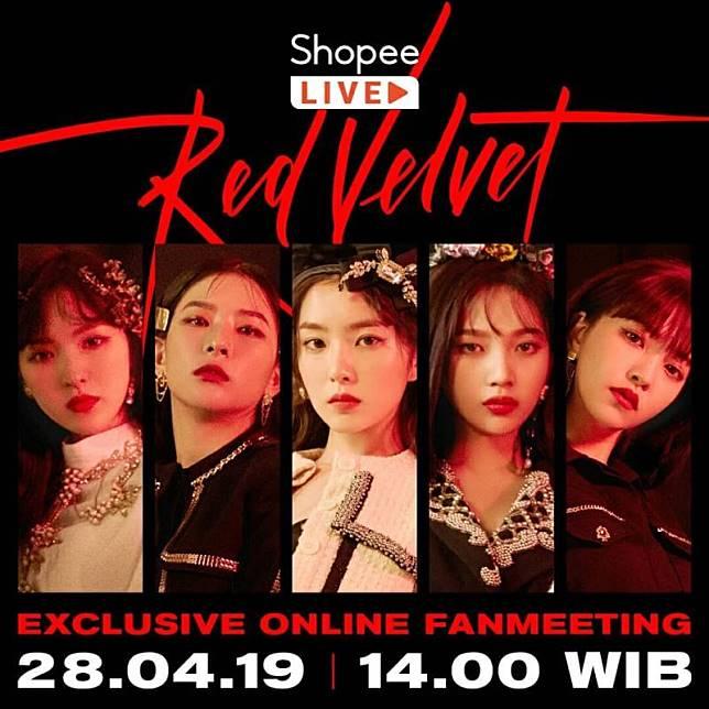 Online Fanmeeting Red Velvet bersama Shopee