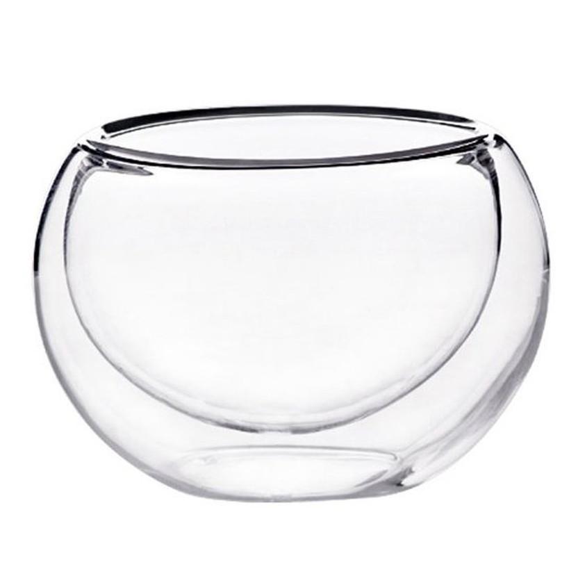 耐熱雙層玻璃杯50ml 品茶杯 酒杯 花茶杯 媲美星巴克濃縮咖啡杯 bodum Tiamo 蛋形杯