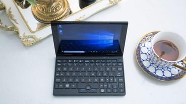 Peakago 7吋迷你筆電,不但支援Windows還有4G連網功能