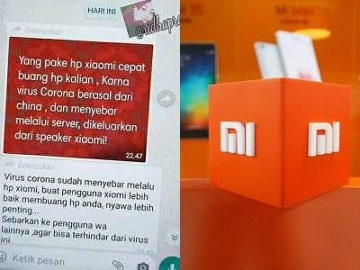 Muncul Hoax Penyebaran Virus Korona Bisa Melalui Smartphone Xiaomi