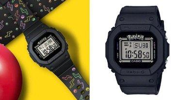 永不退流行!日本精靈寶可夢 X BABY-G 皮卡丘限定手錶,閃電圖案充滿了童年回憶細節!